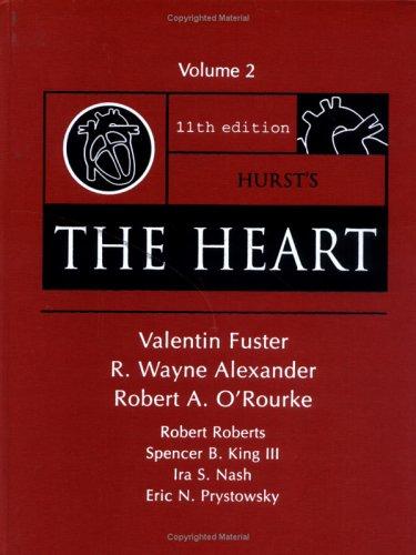 9780071432252: Hurst's the Heart, 11/e, Vol. 2 (Hurst's The Heart (2 Vol.))