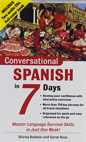 9780071432320: Conversational Spanish in 7 Days Package (Book + 2cds) (Conversational... in 7 Days)