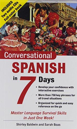 9780071432320: Conversational Spanish in 7 Days
