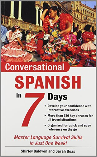 9780071432368: Conversational Spanish in 7 Days (Conversational Languages in 7 Days)