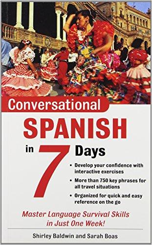 9780071432368: Conversational Spanish in 7 Days