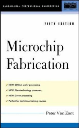 9780071432412: Microchip Fabrication, 5th Ed.