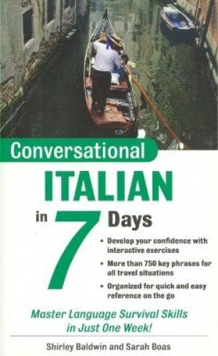 9780071432559: Conversational Italian in 7 Days (Conversational Languages in 7 Days)