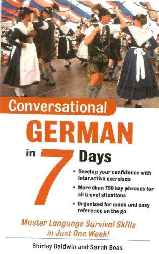 9780071432610: Conversational German in 7 Days