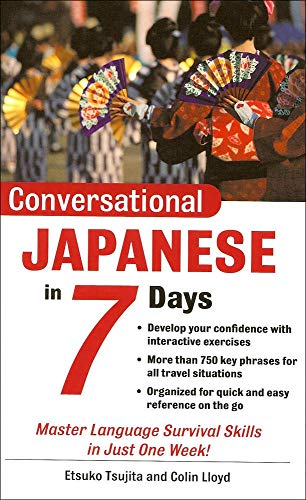 9780071432856: Teach Yourself Conversational Japanese in 7 Days (Conversational Languages in 7 Days)