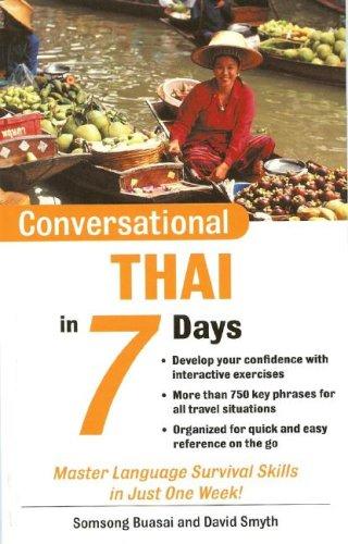 9780071432917: Conversational Thai in 7 Days Package (Book + 2 CDs) (Conversational... in 7 Days)