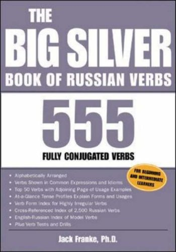 9780071432993: The Big Silver Book of Russian Verbs: 555 Fully Conjugated Verbs (Big Book of Verbs Series)