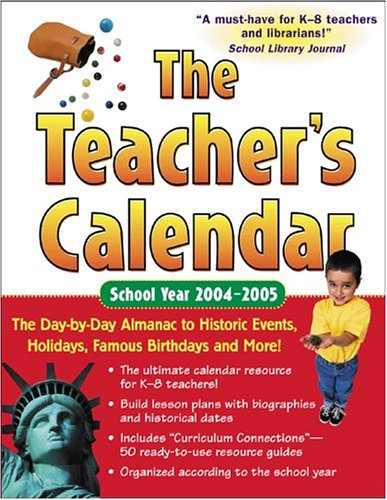 9780071433235: The Teacher's Calendar School Year 2004-2005