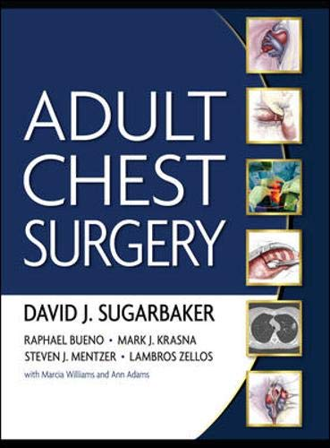 9780071434140: Adult Chest Surgery