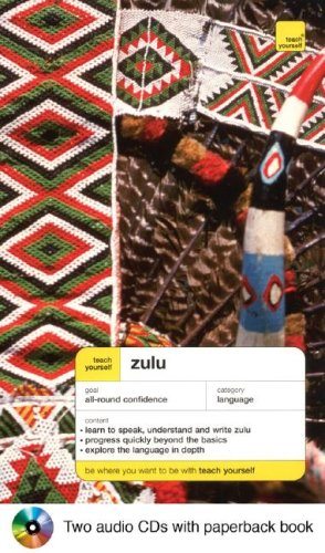 9780071434430: Teach Yourself Zulu Complete Course Package (Book + 2CDs) (Teach Yourself Language)