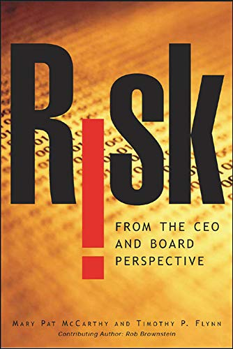 9780071434713: Risk From the CEO and Board Perspective: What All Managers Need to Know About Growth in a Turbulent World