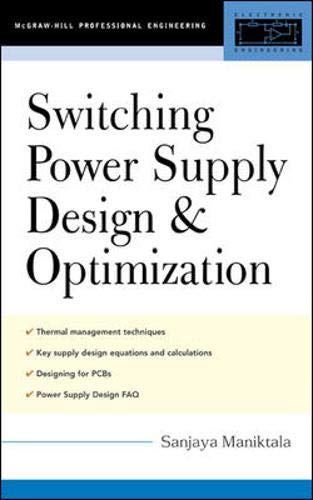 9780071434836: Switching Power Supply Design & Optimization (McGraw-Hill Professional Engineering)