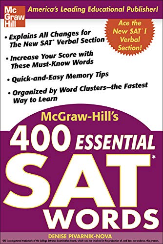 9780071434942: McGraw-Hill's 400 Essential SAT Words