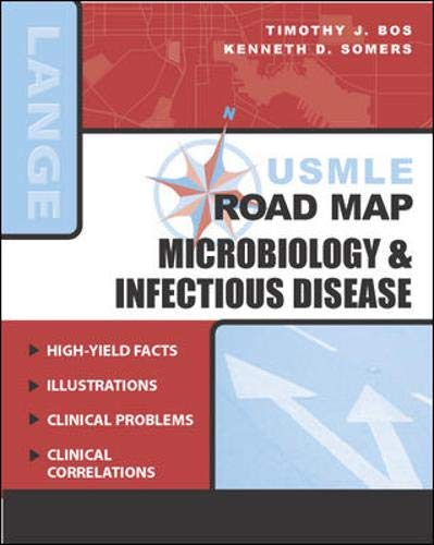 9780071435079: USMLE Road Map: Microbiology & Infectious Disease (LANGE USMLE Road Maps)