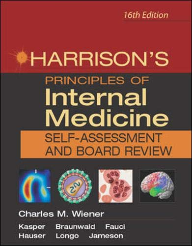 9780071435345: Harrison's Principles of Internal Medicine Board Review: Self-assessment and Board Review