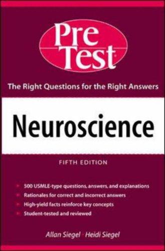 9780071436519: Neuroscience: PreTest Self-Assessment & Review: PreTest Self-assesment and Review (PreTest Basic Science)