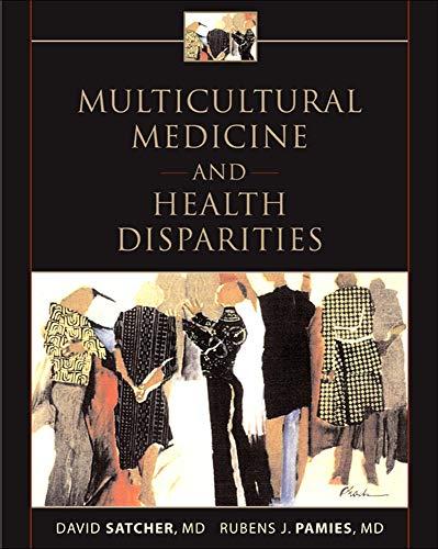 9780071436809: Multicultural Medicine and Health Disparities