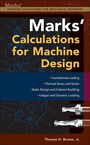 9780071436892: Mark's Calculations For Machine Design