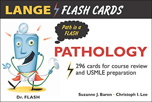 9780071436908: Lange FlashCards: Pathology