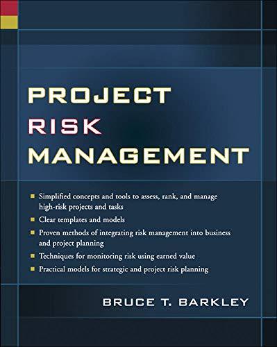 9780071436915: Project Risk Management (Project Management)