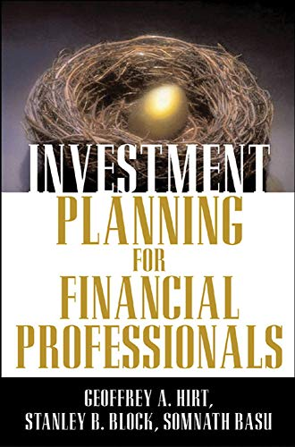 9780071437219: Investment Planning