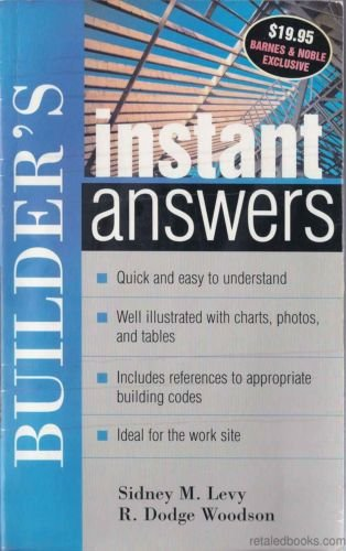 9780071437509: Builder's Instant Answers