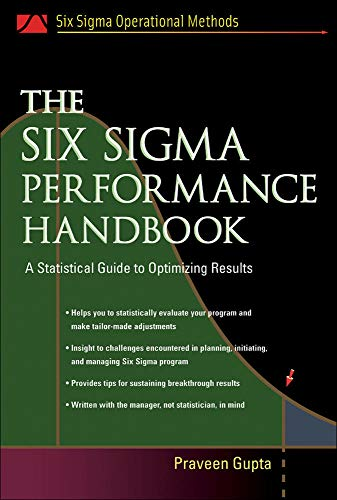 9780071437646: The Six Sigma Performance Handbook: A Statistical Guide to Optimizing Results (Mechanical Engineering)