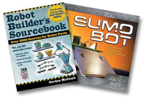 9780071437660: Predko/McComb Robot Builder's Bundle (Build Your Own Remote-Controlled Sumo-bot, Robot Builder's Sourcebook)