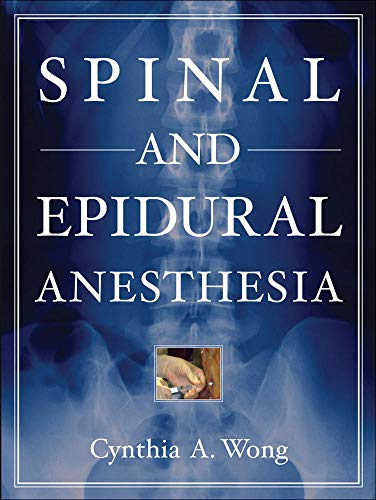9780071437721: Spinal and Epidural Anesthesia