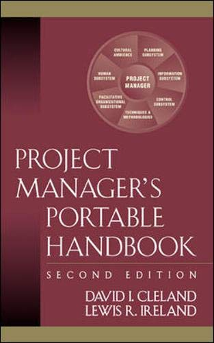 9780071437745: Project Manager's Portable Handbook
