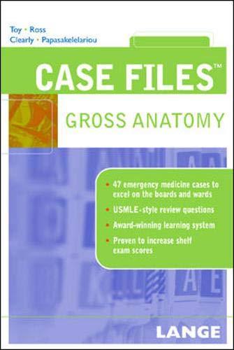 9780071437790: Case Files Gross Anatomy (Lange Case Files)