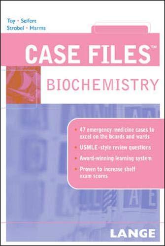 9780071437813: Case Files Biochemistry (Lange Case Files)