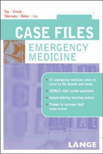 9780071437950: Case Files Emergency Medicine (Lange Case Files)