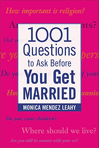 9780071438032: 1001 Questions to Ask Before You Get Married