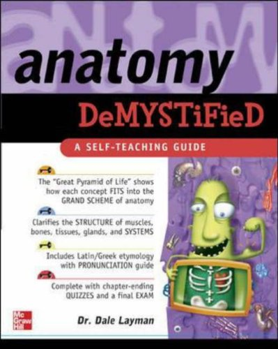 9780071438278: Anatomy Demystified: A Self-teaching Guide