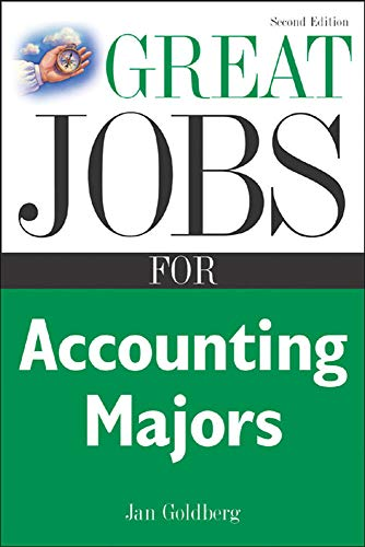 9780071438544: Great Jobs for Accounting Majors, Second edition (Great Jobs Forâ?¦ Series)