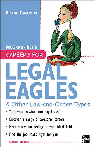 9780071438582: Careers for Legal Eagles & Other Law-and-Order Types, Second edition (Careers for Series)