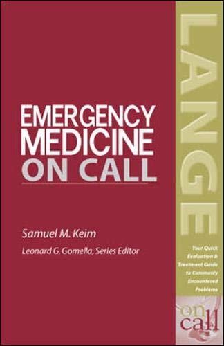 9780071438858: Emergency Medicine On Call Book/PDA Value Pack (Mobile Consult)