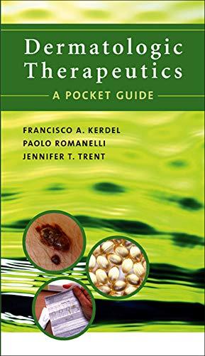 9780071438896: Dermatologic Therapeutics: A Pocket Guide