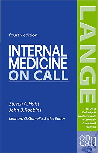 9780071439022: Internal Medicine On Call (LANGE On Call)