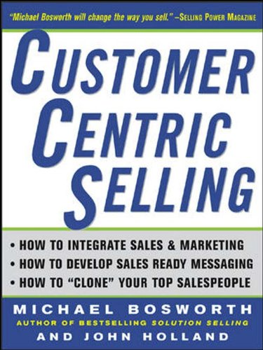 9780071439343: Customer Centric Selling