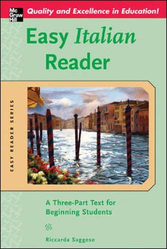 9780071439572: Easy Italian Reader: A Three-Part Text for Beginning Students (Easy Reader Series)