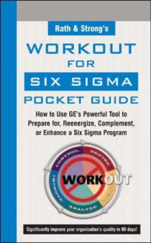 9780071439589: Rath & Strong's GE WorkOut for Six Sigma Pocket Guide