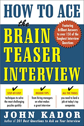 9780071440011: How to Ace the Brainteaser Interview (Business Books)