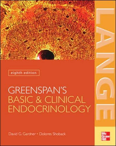 9780071440110: Greenspan's Basic & Clinical Endocrinology: Eighth Edition (Lange Medical Books)