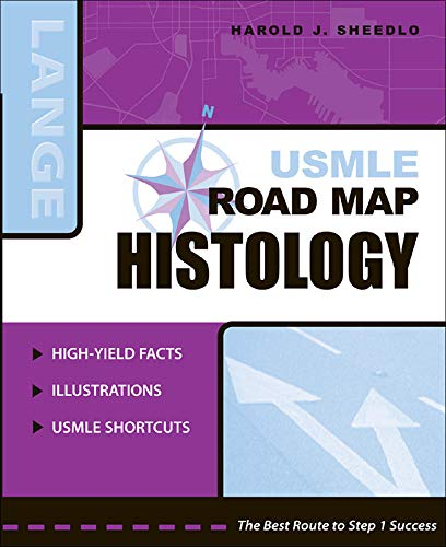 9780071440127: USMLE Road Map Histology (Lange USMLE Road Maps)