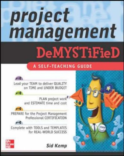 9780071440141: Project Management Demystified: A Self-teaching Guide