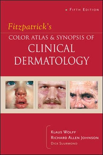 9780071440196: Fitzpatrick's Color Atlas & Synopsis of Clinical Dermatology