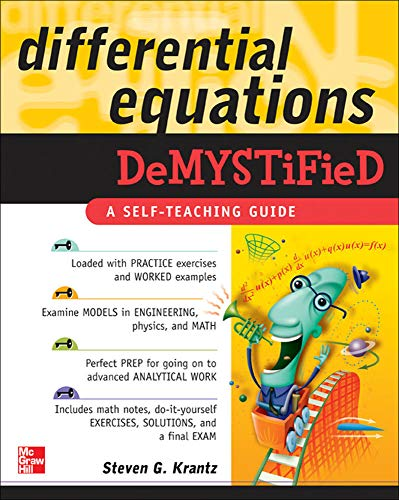 9780071440257: Differential Equations Demystified