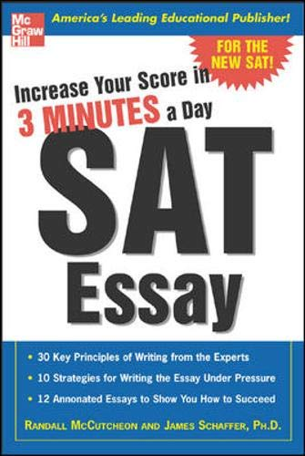 9780071440424: Increase Your Score in 3 Minutes a Day: SAT Essay
